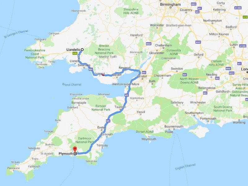 Plymouth, Devon, Friday 6th September 2019