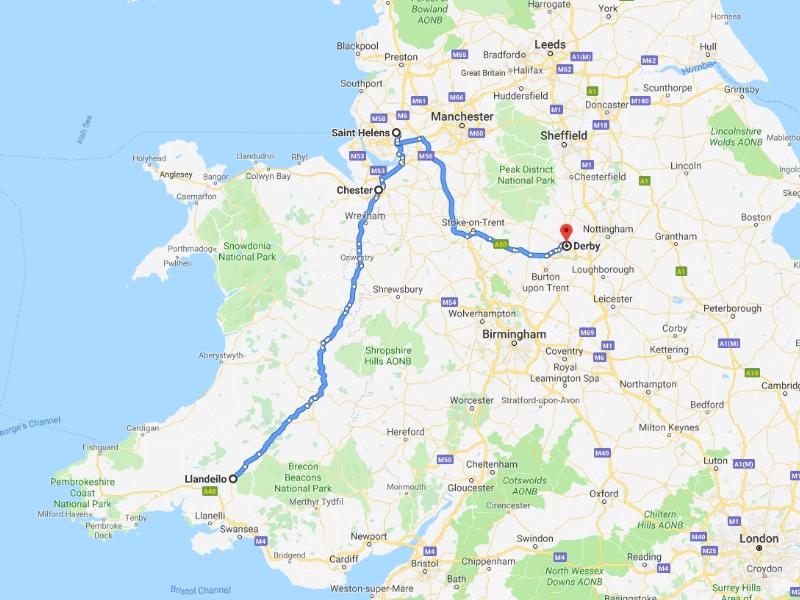 Chester, St Helen's, Derby, Friday 13th September 2019