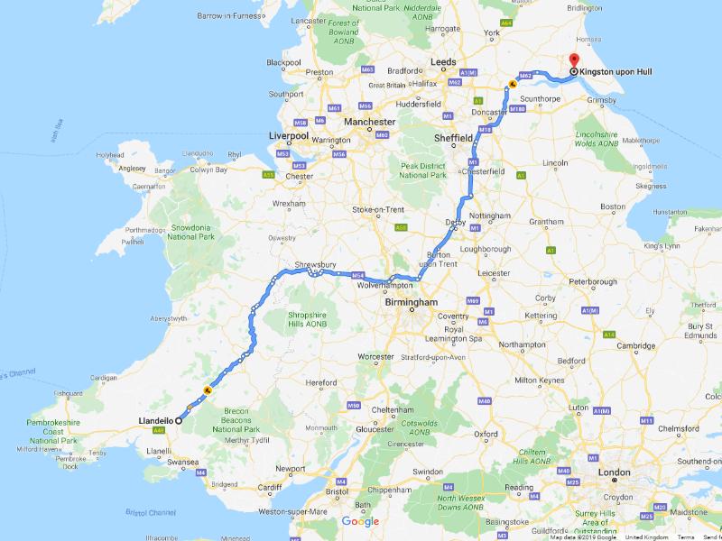 Hull, Leeds, Yorkshire, Friday 18th October 2019