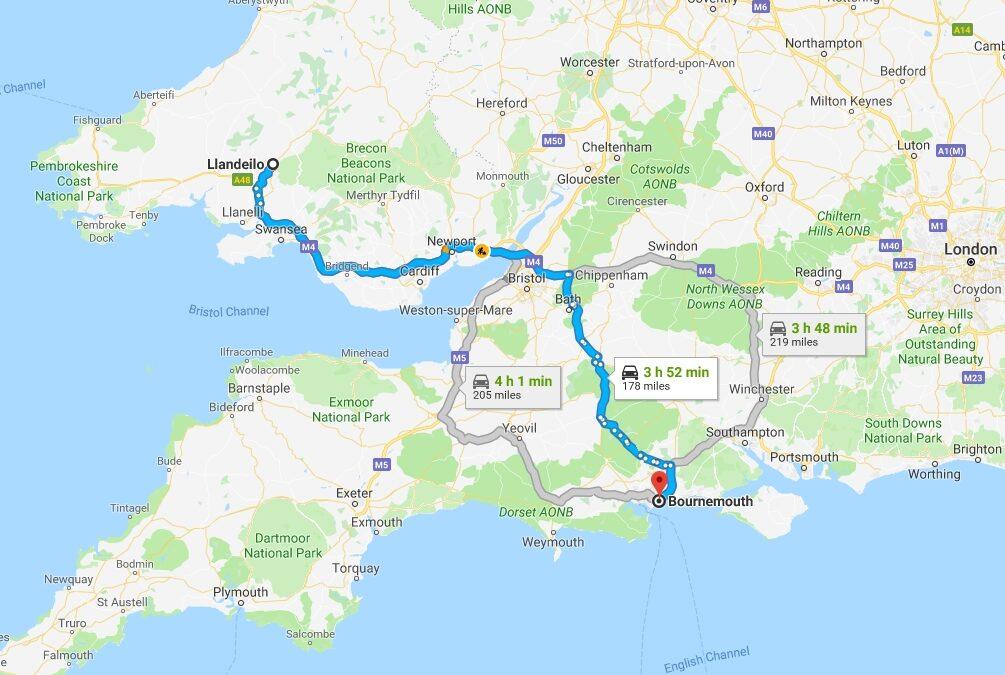 Bournemouth, Dorset, Monday 1st April 2019