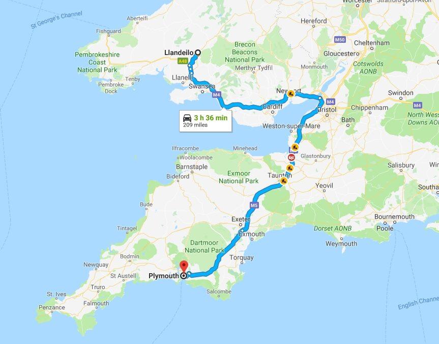 Plymouth, Devon, Friday 21st December 2018