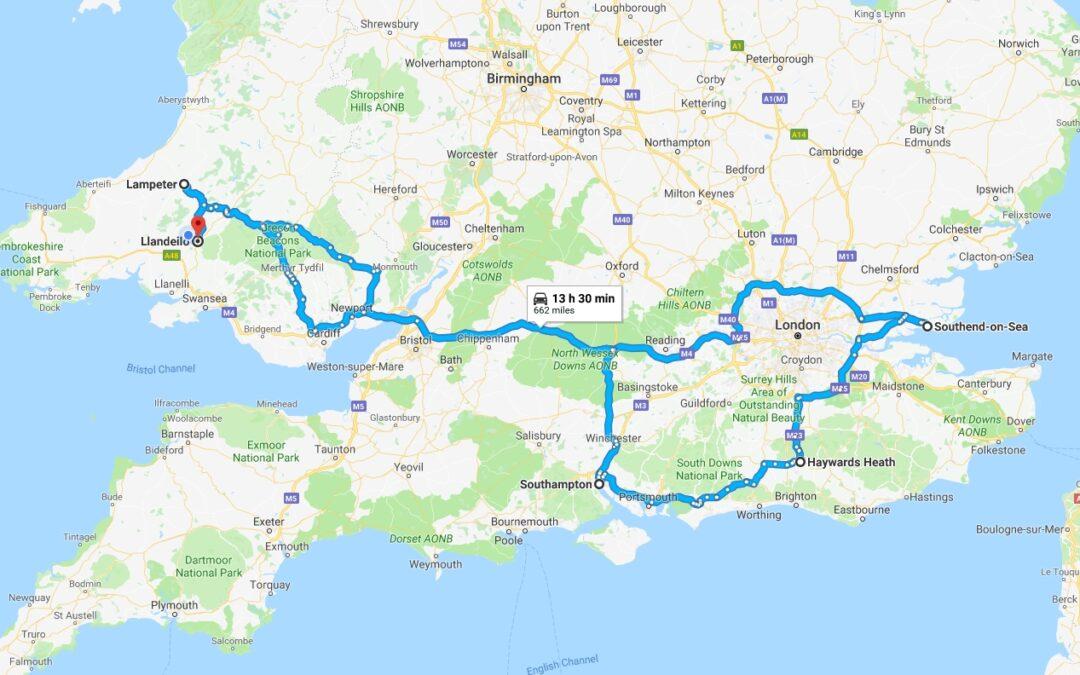 Essex, Thursday 12th – Friday 13th July 2018