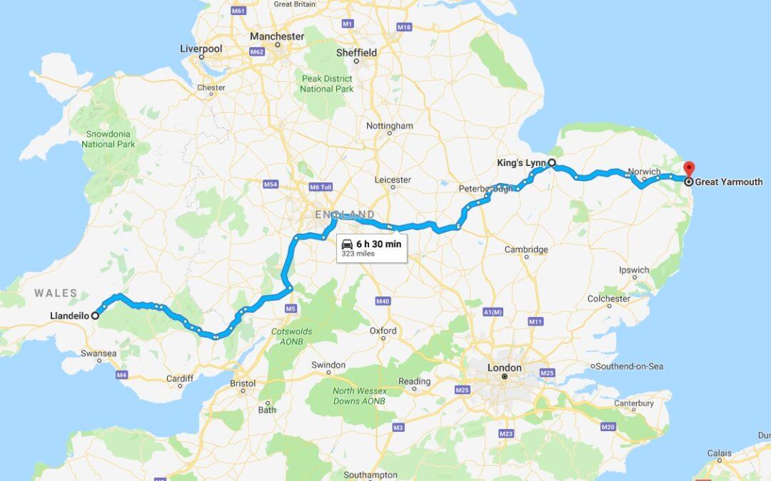 Norfolk, Monday 10th – 11th December 2018